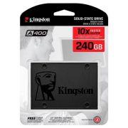 SSD HD Kingston A400 240gb 2,5 Sata 3 6gbps 500mb/s Brasil