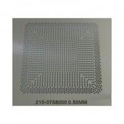 Stencil Ati 215-0758000 0.50mm Reballing Bga Calor Direto - G17