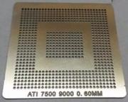 Stencil Ati 7500 9000 Bga Calor Direto Reballing