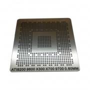 Stencil Ati 9200 9600 9700 X300 X700 Bga Calor Direto Reball - G7