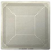 Stencil Calor Direto 215-0852000 R9 290x 0,55mm Reballing