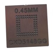 Stencil Cxd5148gg Lfbga-64 0,45mm Calor Direto Bga Reballing