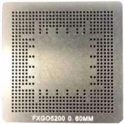 Stencil Geforce Fx Go5200 Go5200 Bga Calor Direto Reballing