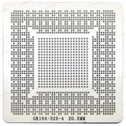 Stencil Gk104-325-a2 Gtx 670 760 970 0.5 Gk104-400-a2 Calor - G32