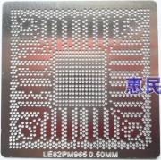 Stencil Le82pm965 0.50mm Reballing Bga Calor Direto - G20