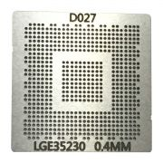 Stencil Lge35230 Calor Direto Lcd Decoder Chip Lg Bga 0.40mm