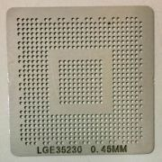Stencil Lge35230 Calor Direto Lcd Decoder Chip Lg Bga 0.45mm