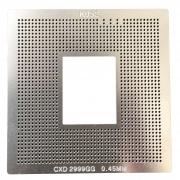 Stencil Ps3 Super Slim 4000 Cpu CXD2999GG 0.45mm - GM9