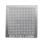 Stencil Wii Cpu B 0,5mm Calor Direto Bga Reballing - GM23
