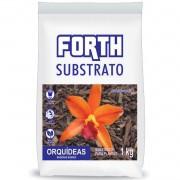 Substrato Orquideas Forth Madeiras Nobres 1kg