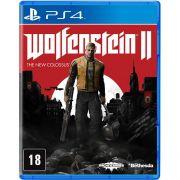 Wolfenstein II Mídia Física Original PS4 Lacrado