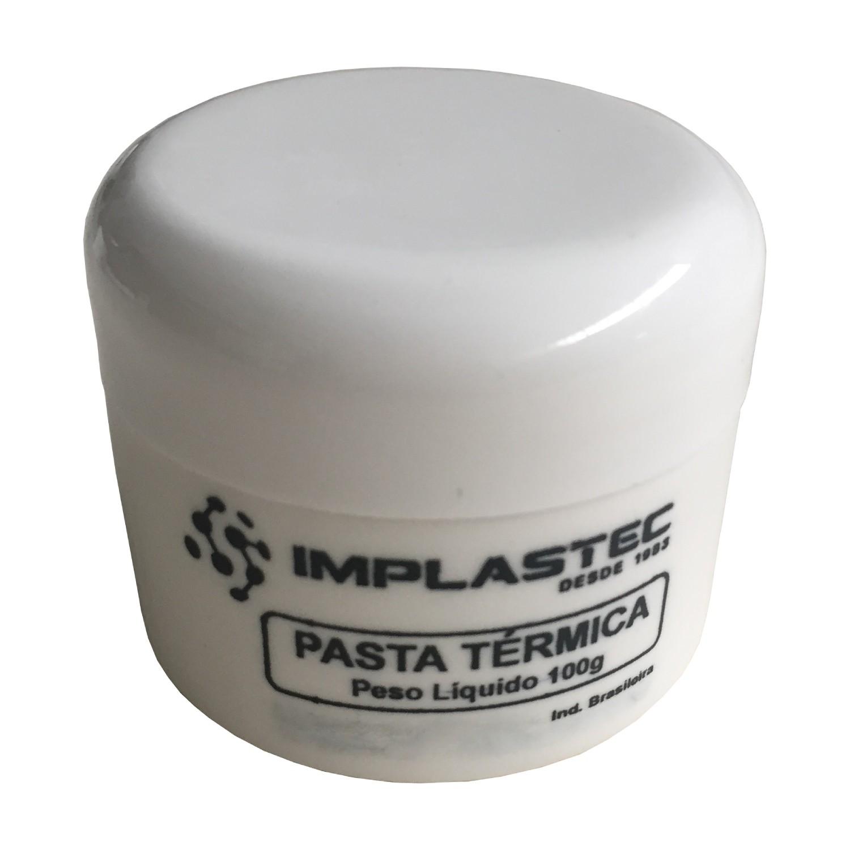 2 Pasta Térmica Implastec 100g Dissipador Processador