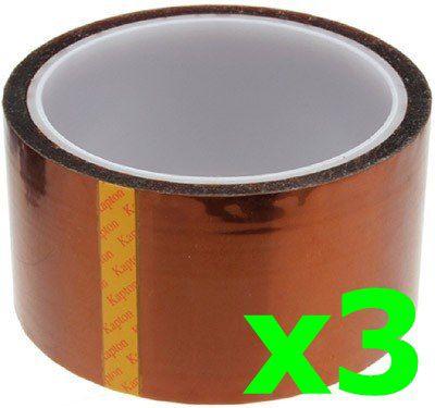 3 Fita Kapton Poliamida Reflow Reballing Bga Smd 3d 50mm