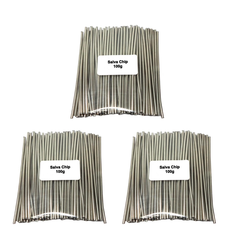 3 X Salva Chip Dessolda Smd Baixa Fusao Bga Eletronica 100g