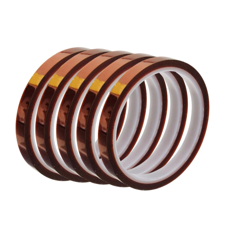 5 Fita Kapton Poliamida Térmica Reflow Reballing Bga 10mm
