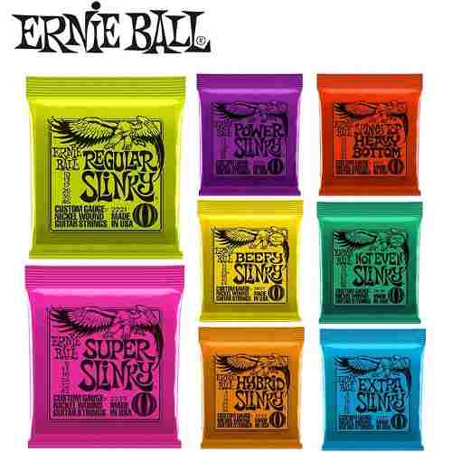Corda Ernie Ball Guitarra 9-42 2253 Classic Rock Roll Usa
