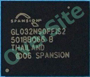 Bga Gl032n90ffis2 Spansion Chipset Memoria Flash Nova
