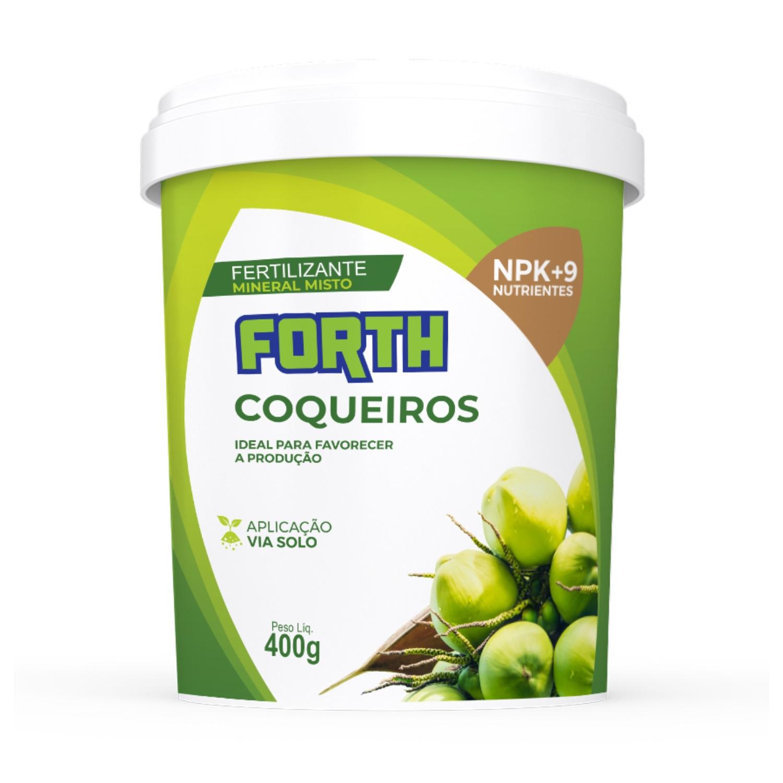 Adubo Fertilizante Forth Coqueiros 400g
