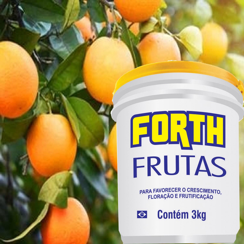 Adubo Fertilizante Forth Frutas 400g Favorece Frutificacao do Pomar