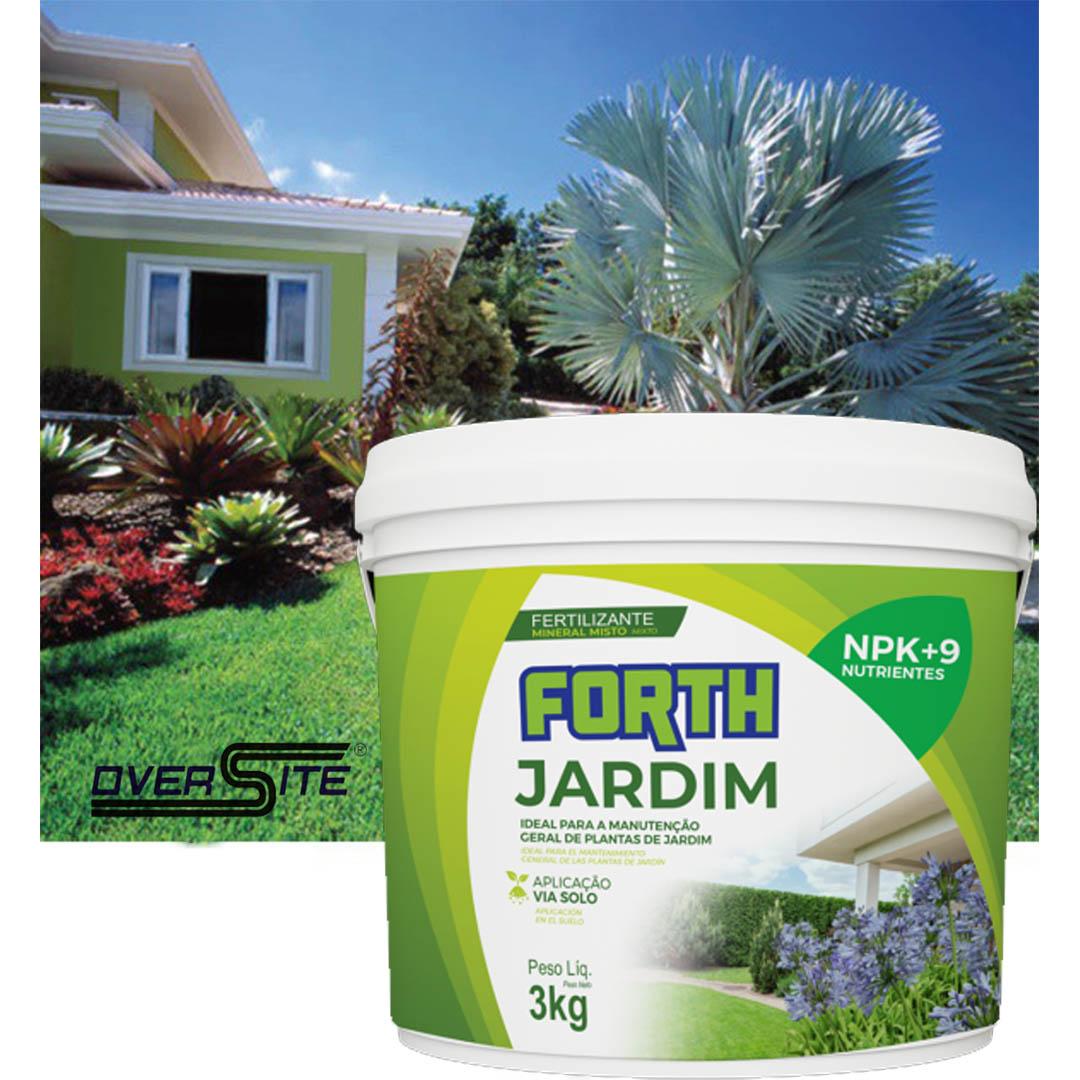 Adubo Fertilizante Forth Jardim 3 Kg
