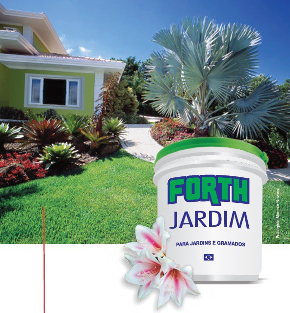 Adubo Fertilizante Forth Jardim 400g Gramado Vaso Jardineira