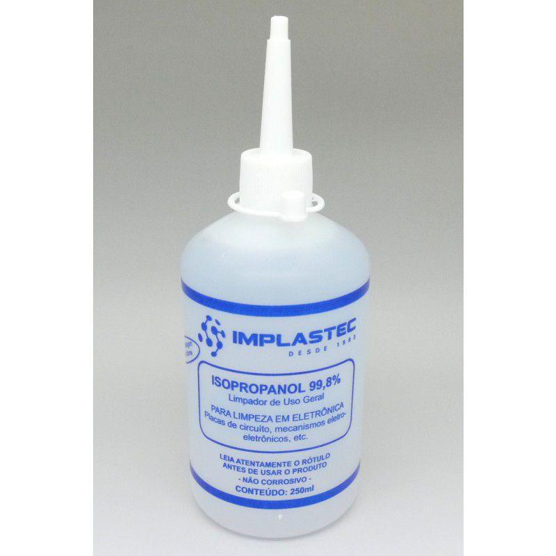 Alcool Isopropilico Isopropanol 250ml