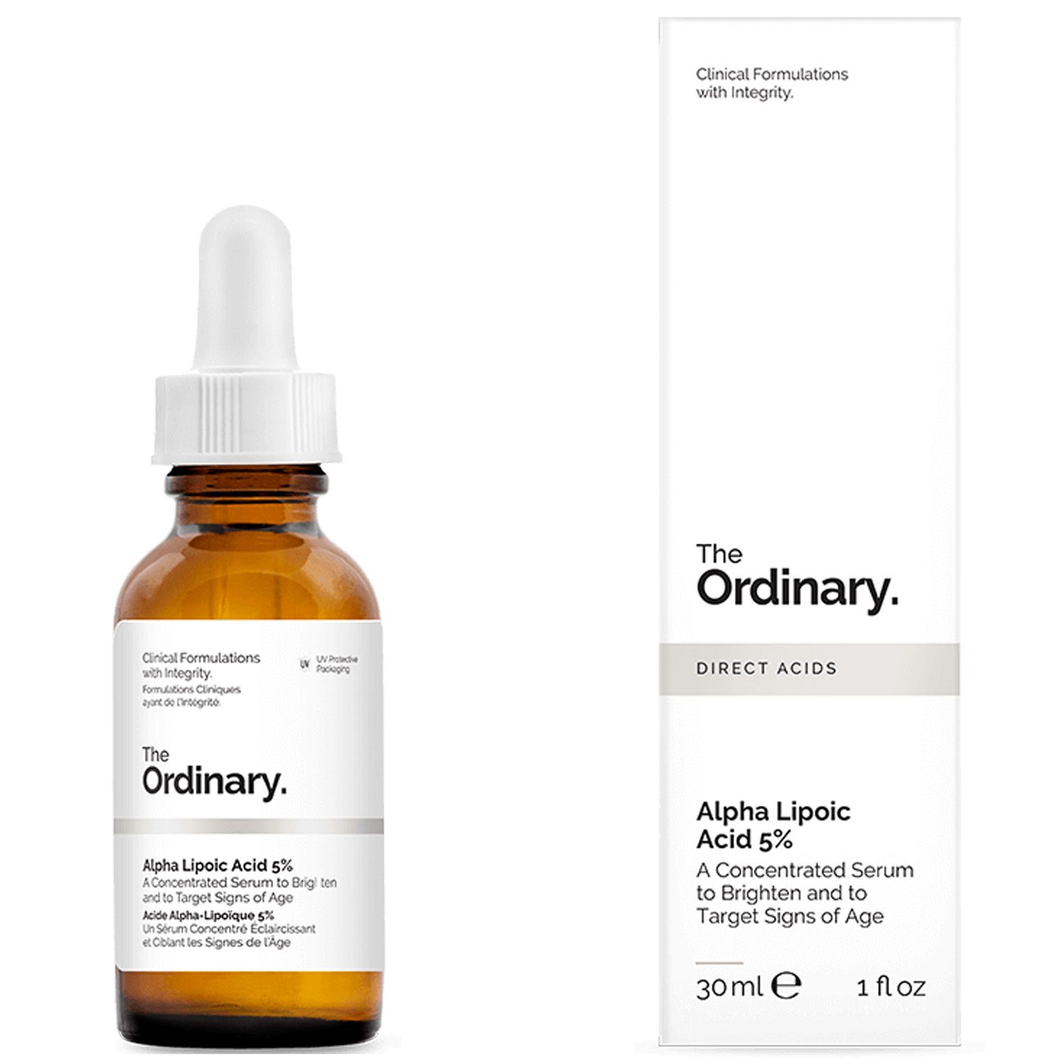 The Ordinary Alpha Lipoic Acid 5% 30ml Importado Ácido Alfa Lipóico