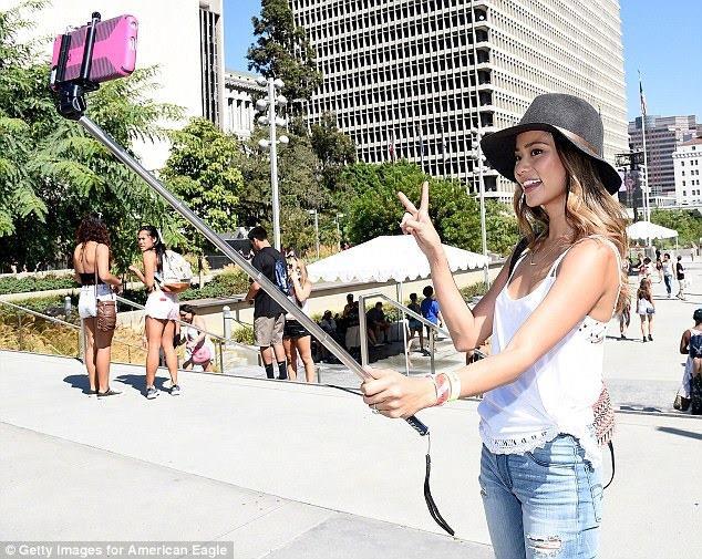 Bastao Selfie Monopod para Celular ou Câmera