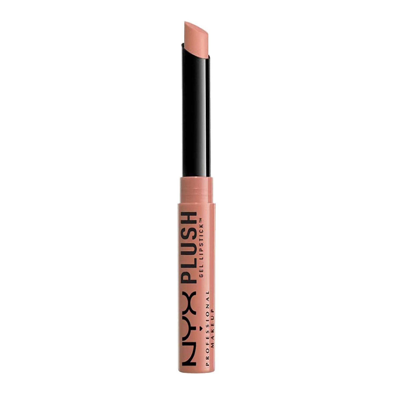 Batom Brilhoso Plush Gel Lipstick Nyx Maquiagem Alto Brilho