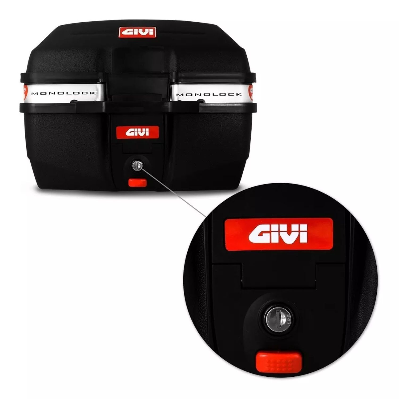 Bau Bauleto Moto Givi Monolock Traffic E27M 27 Lts Universal