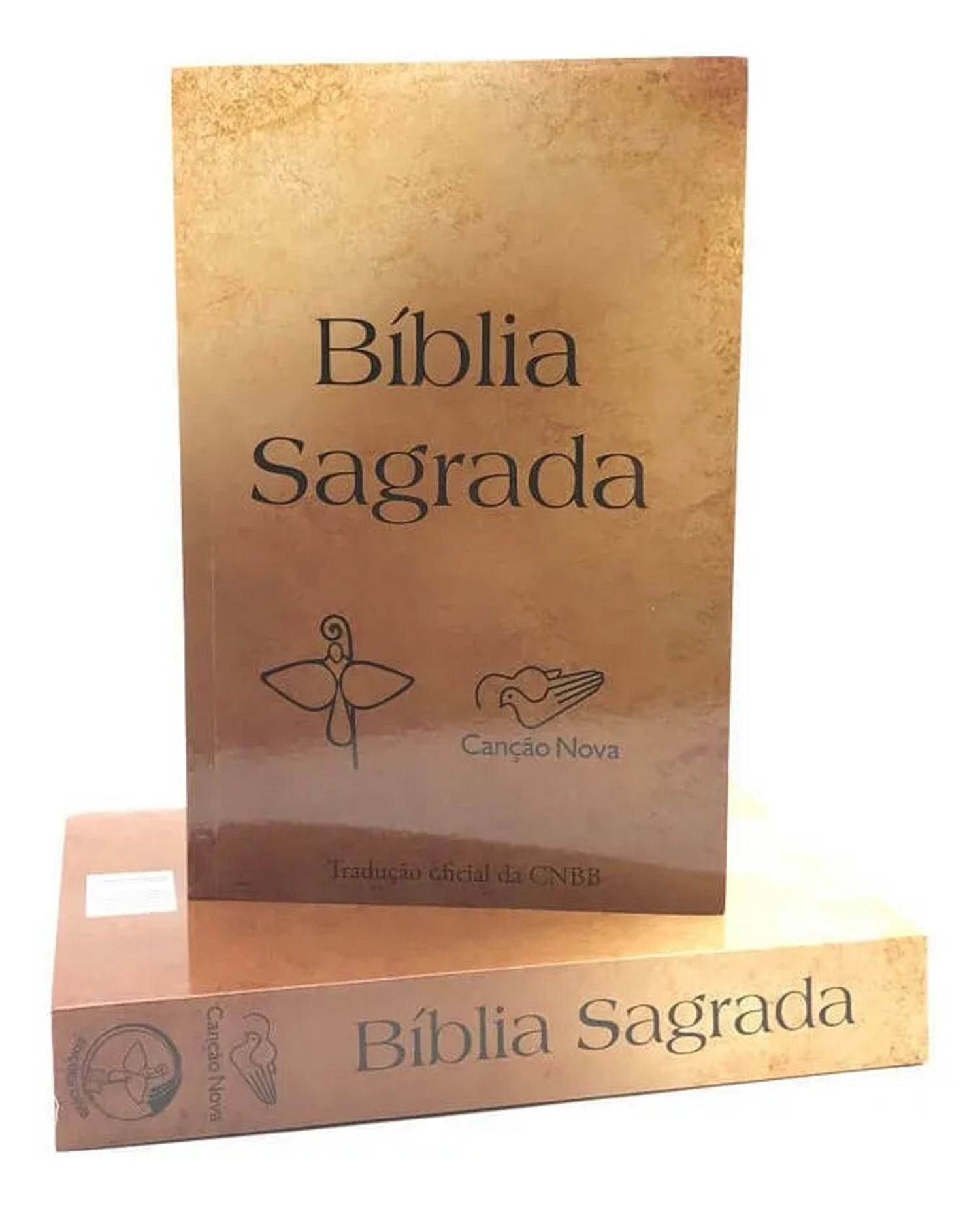 Biblia Sagrada Católica Traducao CNBB Cancao Nova