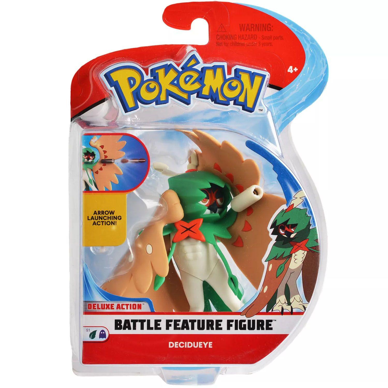 Boneco Pokemon Battle Feature Figure Decidueye Wct Action