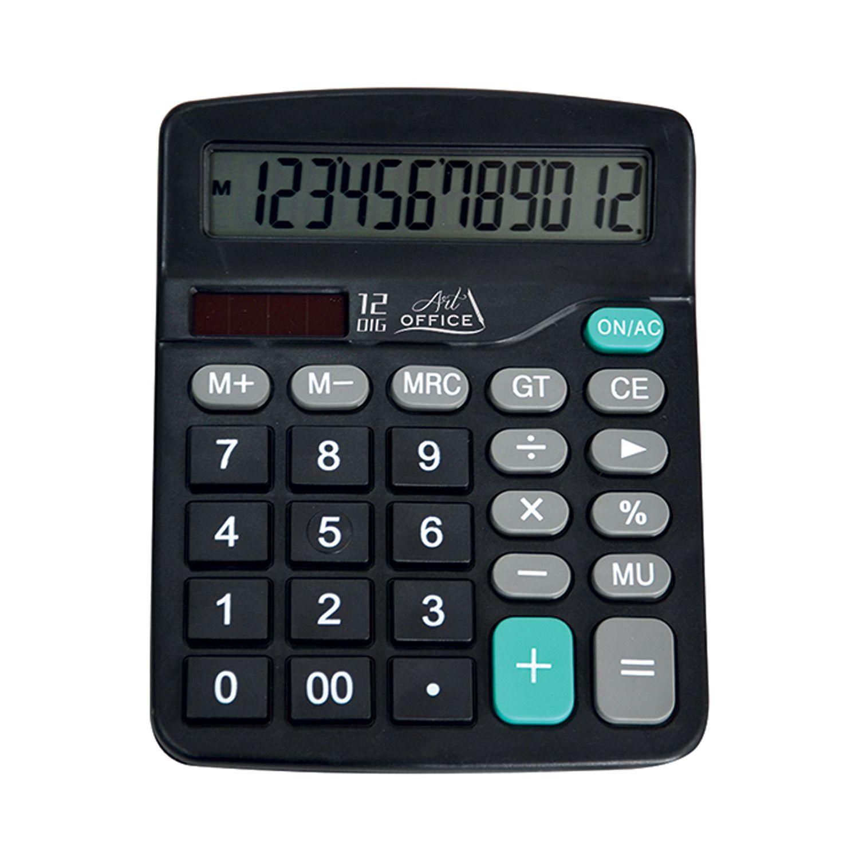 Calculadora Digital Eletrônica de Mesa 12 Dígitos