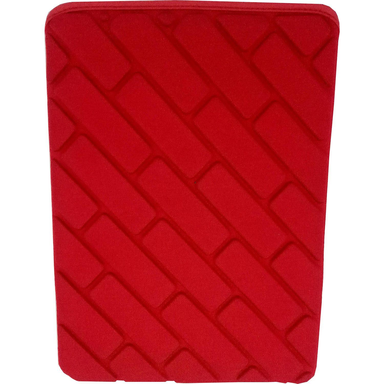 Capa Case Luva Tablet 10 Polegadas Sem Zíper Tijolinho