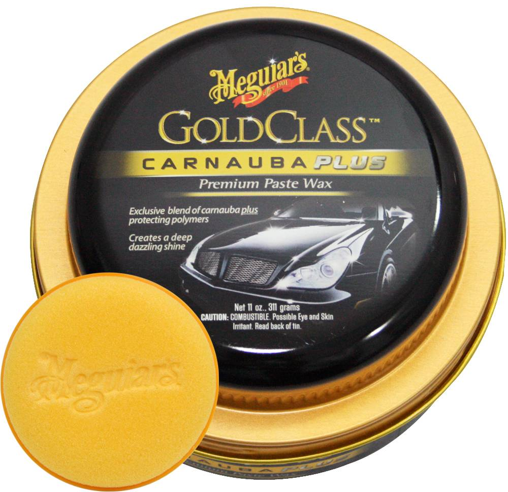 Cera Carnauba Gold Class Plus Wax G7014 Pasta Meguiars 311g