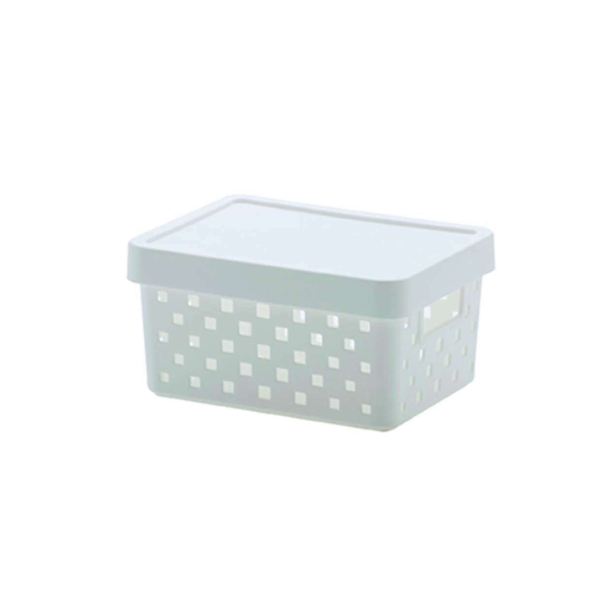 Cesto Caixa Organizadora Quadratta Paramount Plásticos 19X14X10 CM