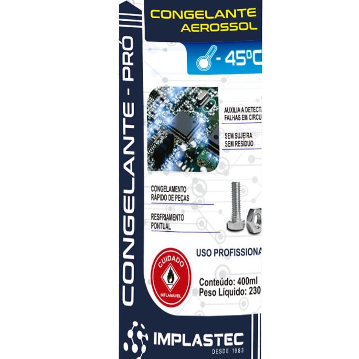 Congelante Pro Aerosol Implastec 400ml