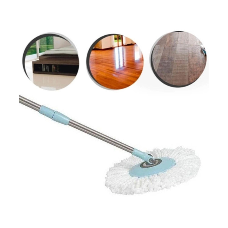 Conjunto 4 Peças Refil Mop Giratório Balde 123UTIL - UD307