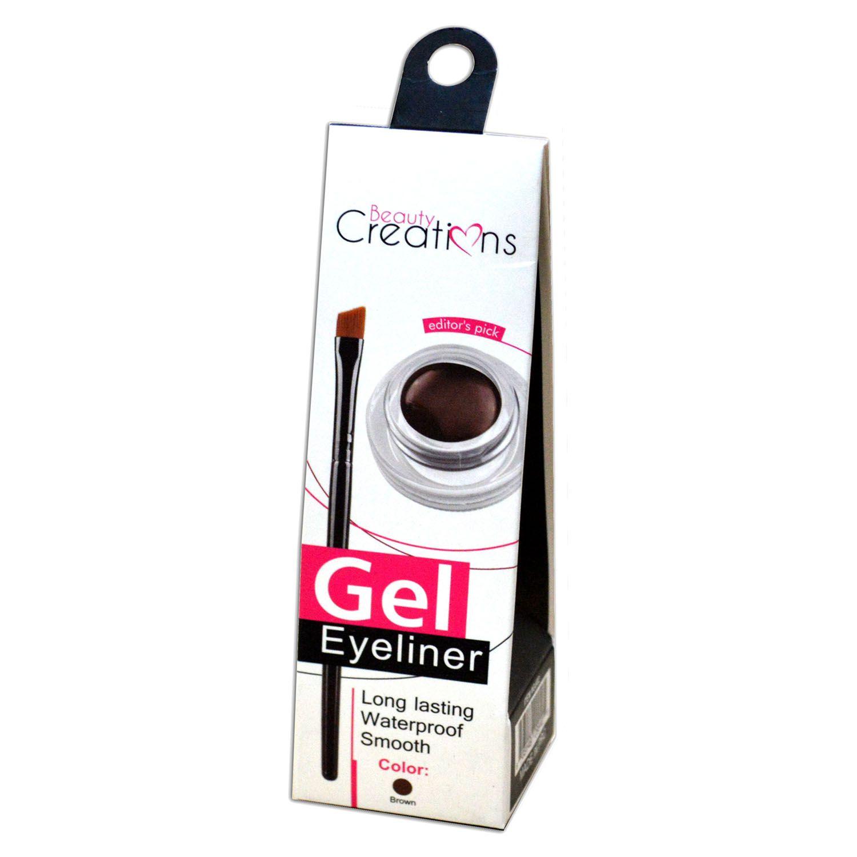 Delineador Beauty Creations Gel Eyeliner A Prova D Água