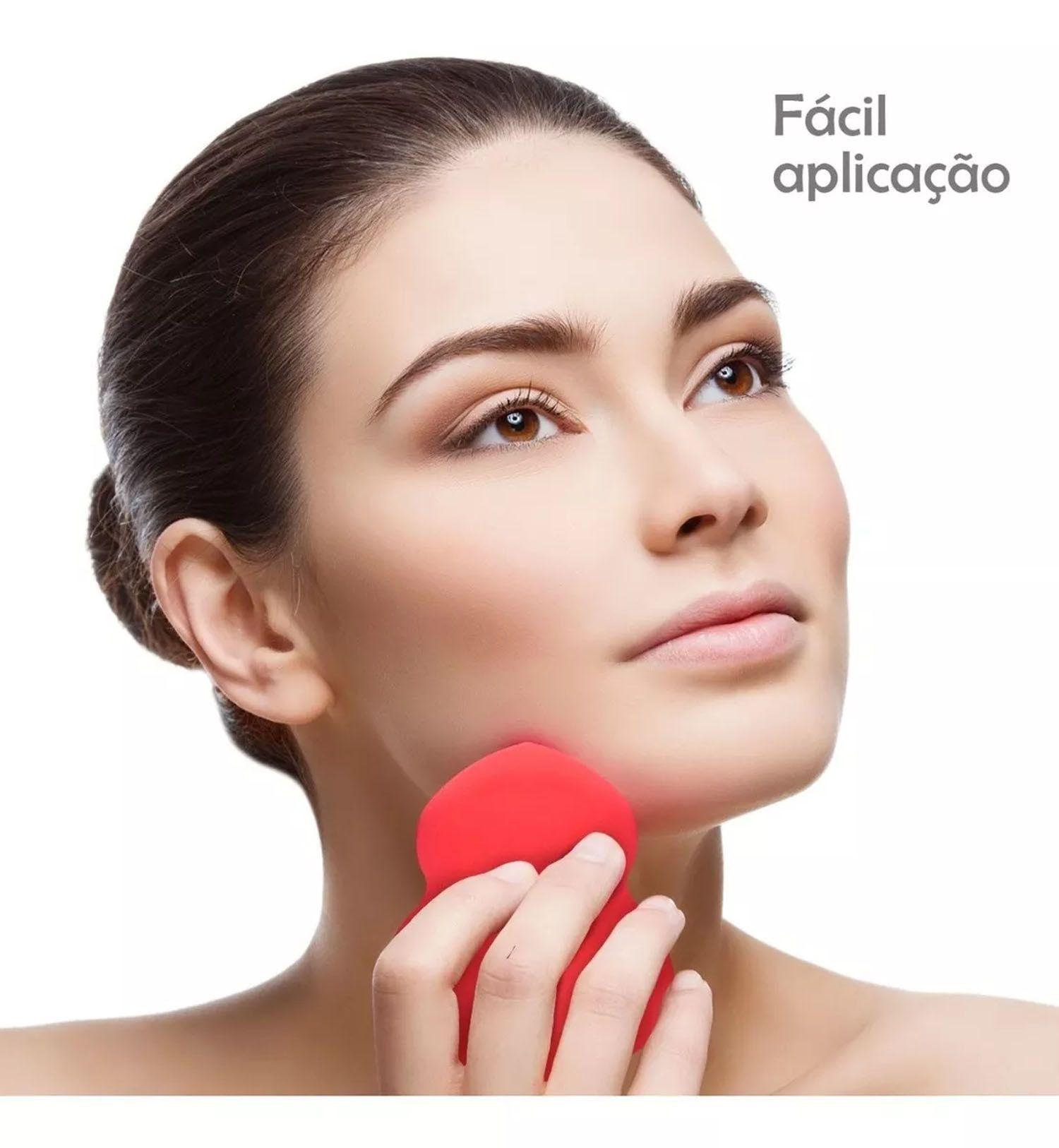 Esponja Maquiagem Tipo Blender P/ Base Corretivo Gota Lancam