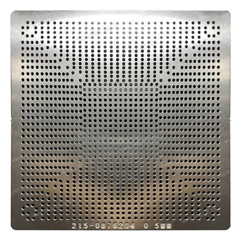 Estencil 215-0876204 RX470 RX480 Stencil Calor Direto 0,5mm - G16