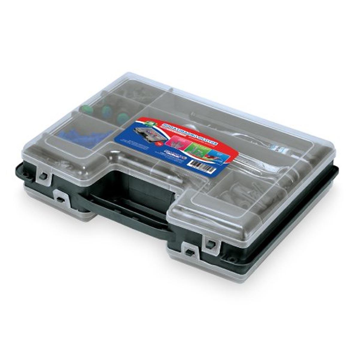 "Estojo Organizador Arqplast Double Case DC 8001 11"" 25393"