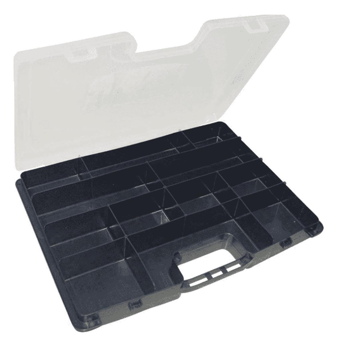 """Estojo Organizador Arqplast Master Case DC 8003 15"""" 25392"""