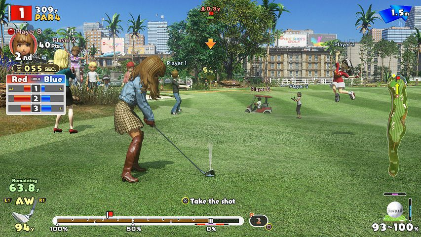 Everybody's Golf Mídia Física Original PS4 Lacrado