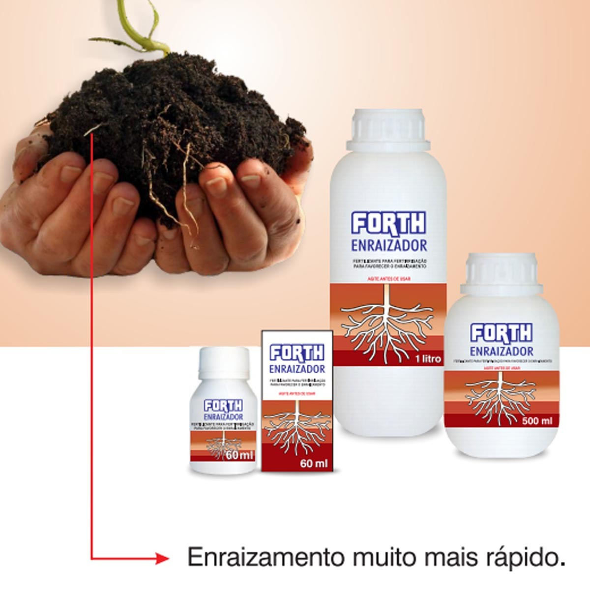 Fertilizante Forth Enraizador 500ml