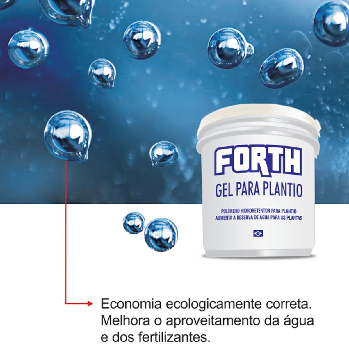 Fertilizante Forth Gel Plantio 2Kg