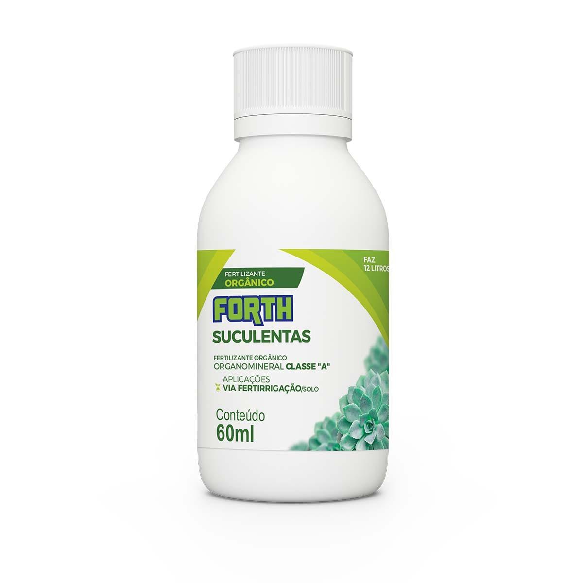 Fertilizante Forth Suculentas 60ML