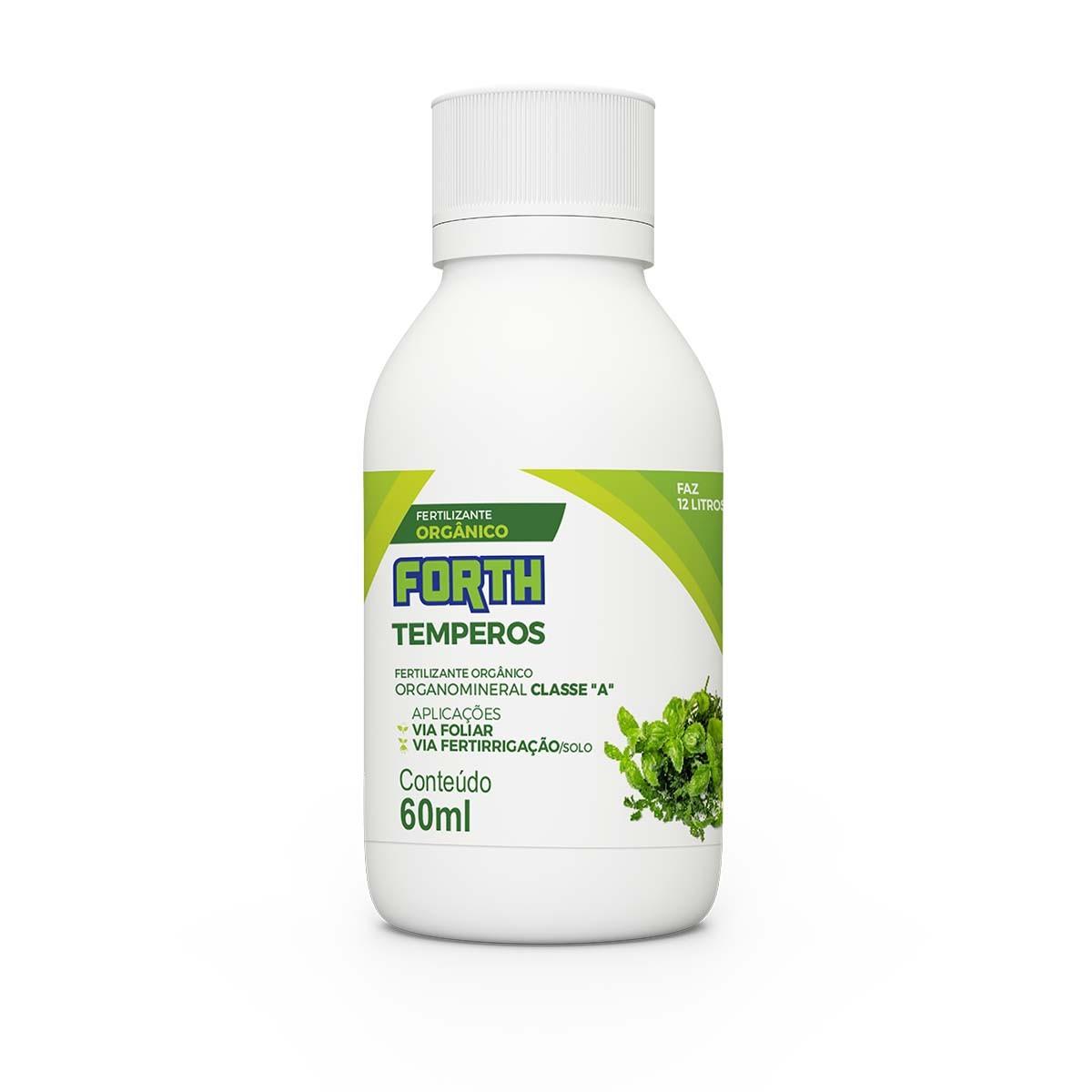 Fertilizante Forth Temperos 60ml