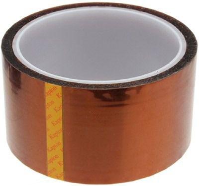 Fita Kapton Poliamida Sublimacao Termica Altas Temperaturas Reflow Reballing BGA 40mm x 33m