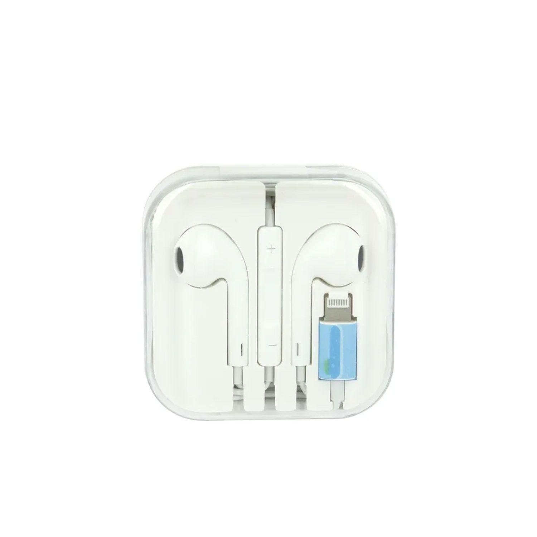 Fone De Ouvido Bluetooth Fio Conector Lightining Controle Fon-7304